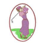 Vintage Female Golfer