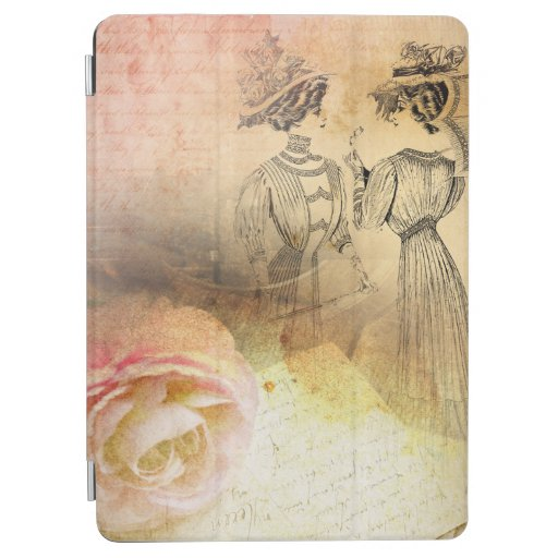 Vintage Femininity iPad Air Cover