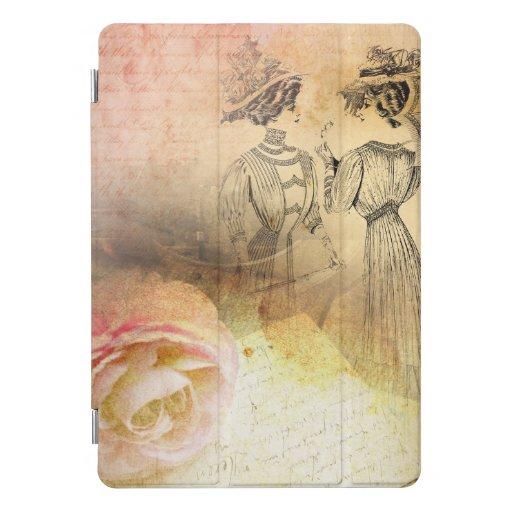 Vintage Femininity iPad Pro Cover