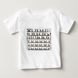 Vintage Fencing Instruction Baby T-Shirt