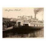 Vintage Ferries Postcard