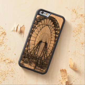 Vintage Ferris Wheel at Chicago World's Fair Carved® Cherry iPhone 6 Bumper