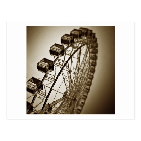 Vintage Ferris Wheel Postcard