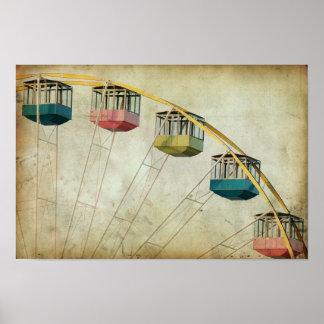 Vintage Ferris Wheel Posters