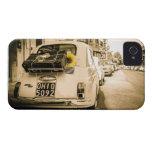 Vintage Fiat 500, Cinquecento en caso del teléfono iPhone 4 Carcasas