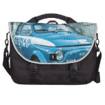 Vintage Fiat 500 Police car Italy Bag Commuter Bags