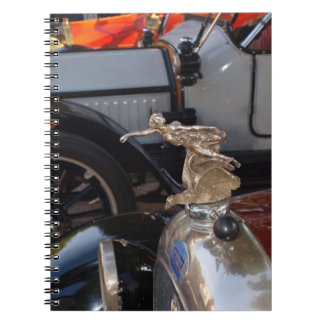 Vintage FIAT Italian Classic Car Spiral Note Book