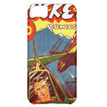 Vintage Fighter Aircraft Comic Cover For iPhone 5C