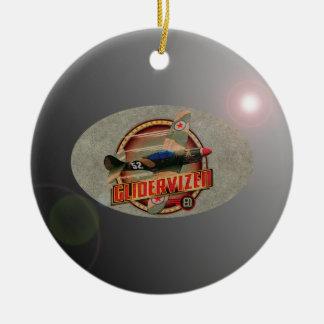 VINTAGE FIGHTER PLANE. CHRISTMAS ORNAMENTS