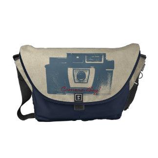 Vintage Film Camera Messenger Bag