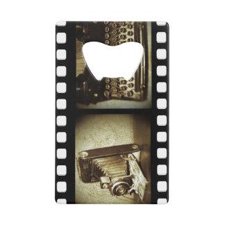 Vintage Film Credit Card Bottle Opener