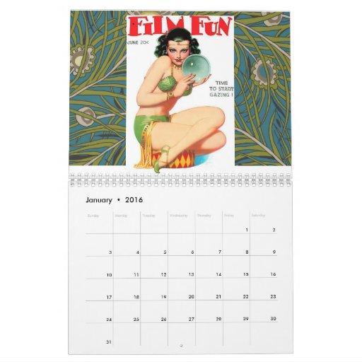 Vintage FILM FUN Calendar