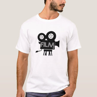 Vintage Film Graphic Tee Cinema Producer T-Shirt