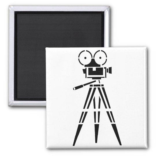 Vintage Film Movie Set Camera Magnet