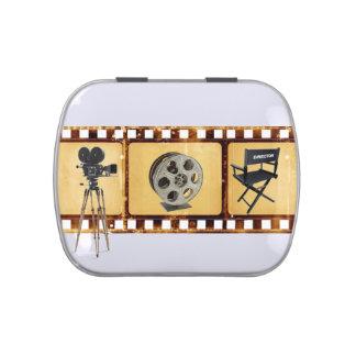 Vintage Film Strip Candy Tin