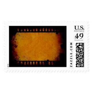 Vintage film stripe postage