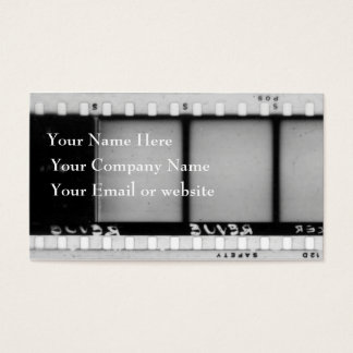 Vintage Filmstrip Business Card II
