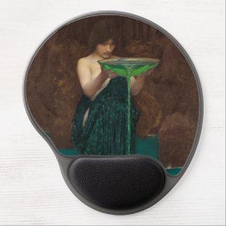 Vintage Fine Art Circe Invidiosa Waterhouse Gel Mouse Pad