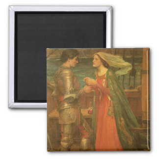 Vintage Fine Art, Tristan and Isolde by Waterhouse Magnet
