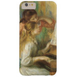 Vintage Fine Art, Young Girls at Piano by Renoir Barely There iPhone 6 Plus Case