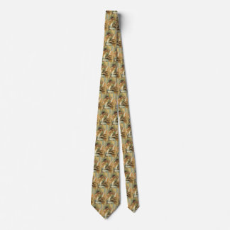 Vintage Fine Art, Young Girls at Piano by Renoir Neck Tie