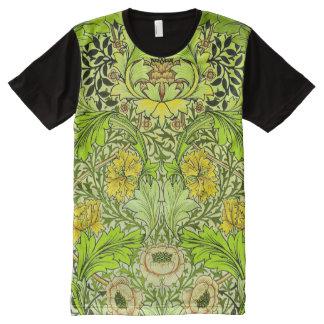 Vintage Fine Floral Pattern William Morris All-Over Print Shirt