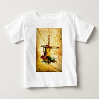 Vintage fineart F021 Windmill Baby T-Shirt