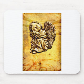 Vintage fineart F030 angel Mouse Pad