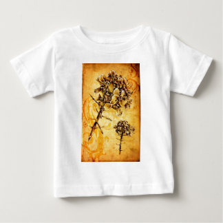 Vintage fineart F041 flower Baby T-Shirt