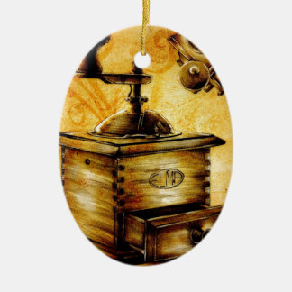 Vintage fineart F042 Ceramic Ornament