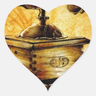 Vintage fineart F042 Heart Sticker