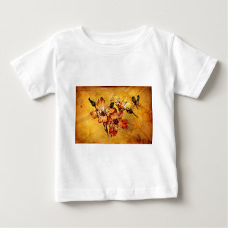 Vintage fineart F044 flower Baby T-Shirt