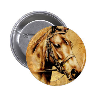 Vintage fineart F049 horse Pin