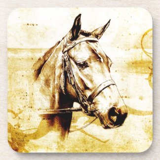 Vintage fineart F075 horse Drink Coasters