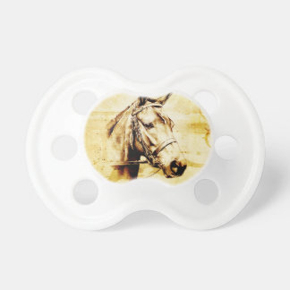Vintage fineart F075 horse Pacifiers