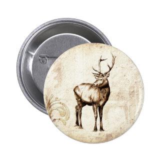 Vintage fineart F077 deer Pins