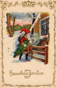 Finland christmas cards greeting photo cards zazzle vintage finnish christmas greeting card m4hsunfo