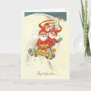 Vintage Finnish Christmas Cards Zazzle
