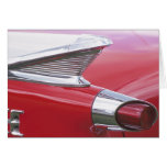 Vintage Fins and Chrome Classic Car Photo Cards