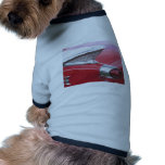 Vintage Fins and Chrome Classic Car Photo Pet Clothing