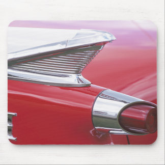 Vintage Fins and Chrome Classic Car Photo Mouse Pad