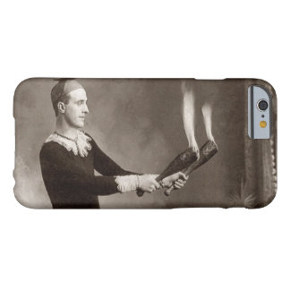 Vintage Fire Juggler Barely There iPhone 6 Case