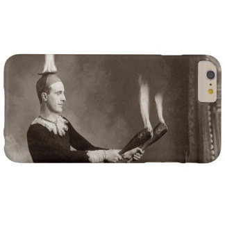 Vintage Fire Juggler Barely There iPhone 6 Plus Case