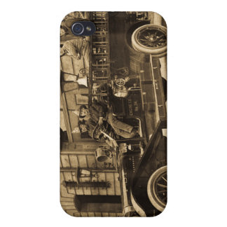 Vintage Fire Rail and Ladder Company 34 iPhone 4 Cases