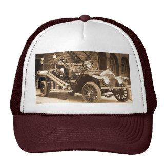 Vintage Fire Truck Mesh Hats