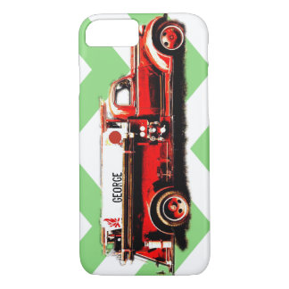 Vintage Fire Truck iPhone 7 Case