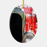 Vintage Fire Truck Ornament