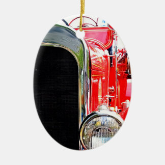 Vintage Fire Truck Ornament