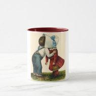 Vintage First Kiss Mug