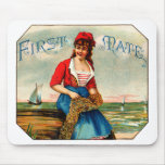 Vintage First Mate Cigars Mouse Pad